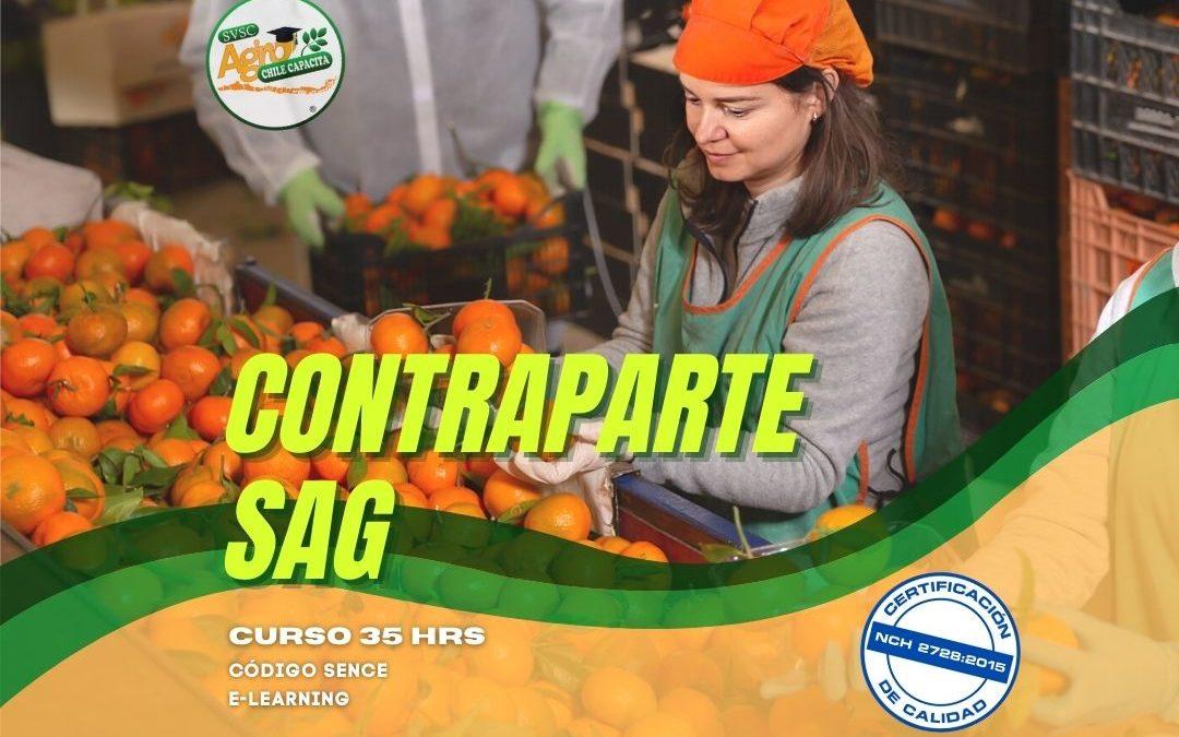 Curso Contraparte SAG Marzo-Abril 2021